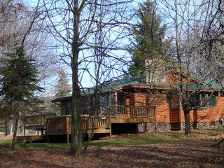 Canaan Valley cabin photo - Private, intimate cabin in the woods with lots of sunlight