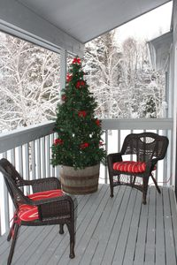Holiday Season - Winter - Balcony