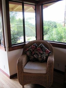 Kealakekua Bay house rental - Curl up with a good book.
