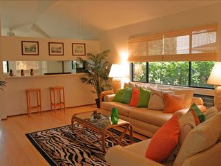 Wailua house photo - Tropical Living Room with HD Television