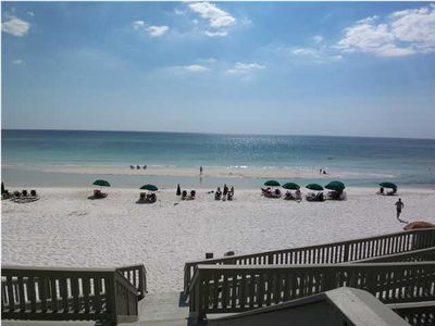 Rosemary Beach Access - short stroll from the Flats to this beautiful beach!!