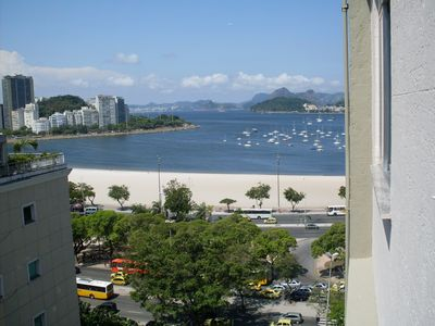 View to Botafogo's beach