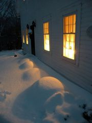 Dorset house photo - Plenty of snow, but still cozy inside.