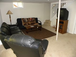 Berkeley Springs house photo - Lower level TV room for a late night movie.