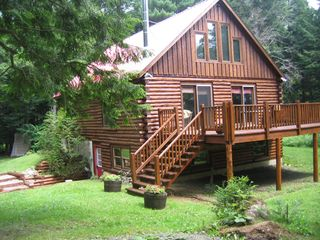 Jay Peak cabin photo - The Place - Front View