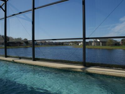 Buena Ventura Lakes villa rental - POOL WITH LAKE VIEW