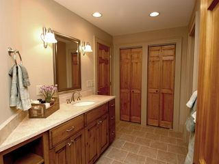 Cashiers estate photo - Lower Level Guest Master Bath