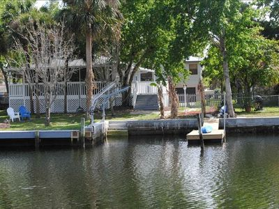 Back yard and floating Dock for Kayaking