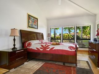 Poipu house photo - Second master suite with HDTV/ AC