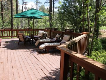 Pinetop house rental - Peaceful & simply gorgeous, this home overlooking the golf course has it all!
