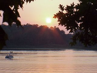 Paw Paw cottage photo - Sunset at Bankson in the Summer