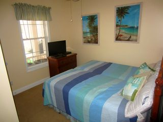 Ocean Drive Beach condo photo - Bedroom 6 (upstairs): 1 King Swing. All bedrooms have a 32 inch LCD and DVD.