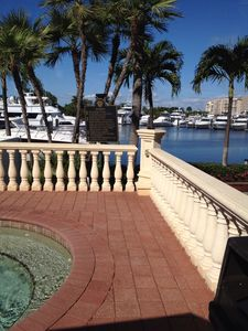 Marina View from Gulf Harbor Pool area