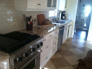 Viking stove, Bosch dishwasher