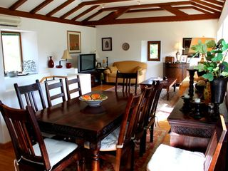Dubrovnik villa photo - Dine in the summer kitchen or here in the more formal dining room.