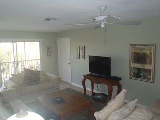 Sanibel Island condo photo - Living area, Television. Wireless Internet