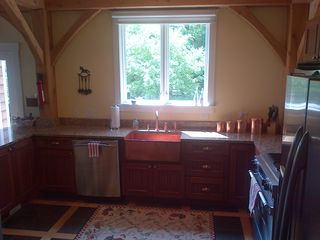 West Dover house photo - bright and clean kitchen