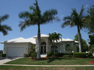 Vacation Homes in Marco Island house photo - Welcome to Marco Getaway - tropical landscape.