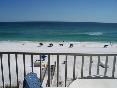 YOU COULD BE HERE! 27 ft balcony - Master BR View