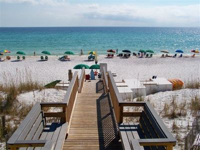 Four Beach Chairs with Umbrella Service Included with rental, private gate