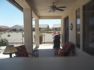 Patio include a natural gas grill for your evening cookouts and relaxation.