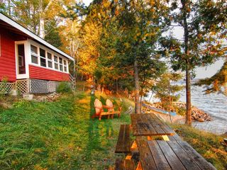 Rangeley Lake cabin photo - Loon front yard