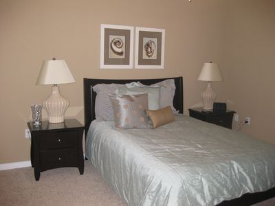 Ocean City condo rental - Queen bedSecond Bedroom - Plush Queen Size Sealy Pillow Top - 19 inch tv