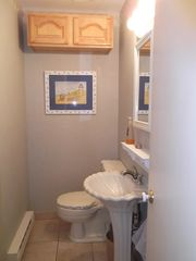 Brigantine house photo - .Half Bath on the first floor
