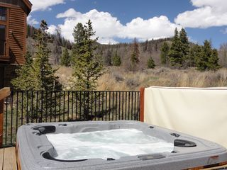 Keystone townhome photo - Hot Tub