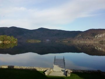 Huletts Landing house rental - A very calm day at Lake George