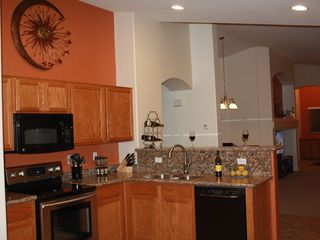 Goodyear bungalow photo - Granite countertops, new appliances, Stove with a warming drawer, bosch quiet dw