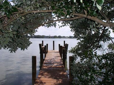 Watch the sun rise & access the mangrove islets & Gulf from your private dock.