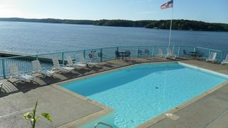 Osage Beach condo photo - The Ledges lakeside pool on the point of the property
