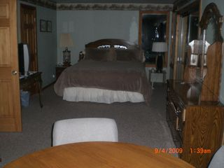 Incline Village house photo - Master with King, table for cards or writing and computer hook up for hard wire,