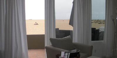 Newport Beach condo rental - Patio view