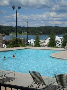 Cherokee Lake condo rental - Pool
