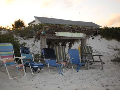 Great Exuma villa rental - Relax & read a good book