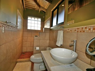 Santa Teresa villa rental - Tiled Bathroom with large shower
