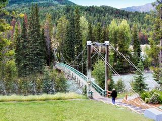 Panorama house photo - Bridge Across Toby Creek to the Activity Center, Tennis Courts, Horseback Riding