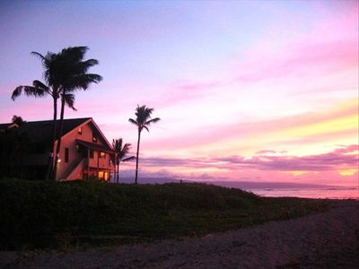 Kahana condo rental - Another beautiful sunset at Kahana Village!