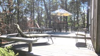 Wellfleet house photo - Enjoy the spacious back deck, great for relaxing...
