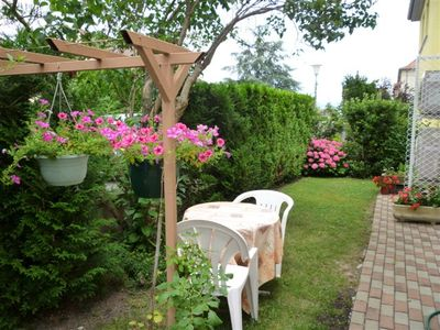 Cottages in house, quiet area of ​​Colmar 2 or 4 people with garage
