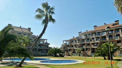 New holiday apartment in a small complex, 150 m to the beach