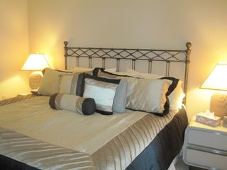 Master bedroom with King-sized Bed - Brigantine condo vacation rental photo