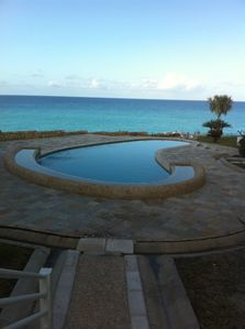 One of the two pool with ocean view!!