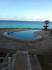 Cupecoy condo photo - One of the two pool with ocean view!!