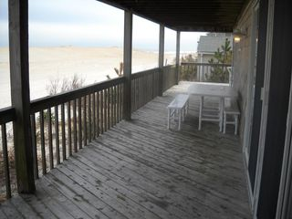 Harvey Cedars house photo - deck view