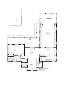 Providenciales - Provo villa rental - 1st Level Floor Plan