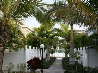 Indian Shores condo photo - Walkway to pool