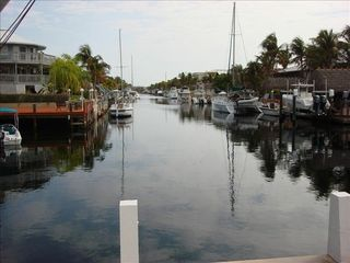 Key Largo house photo - Deep Water Canal With Sunrise Views